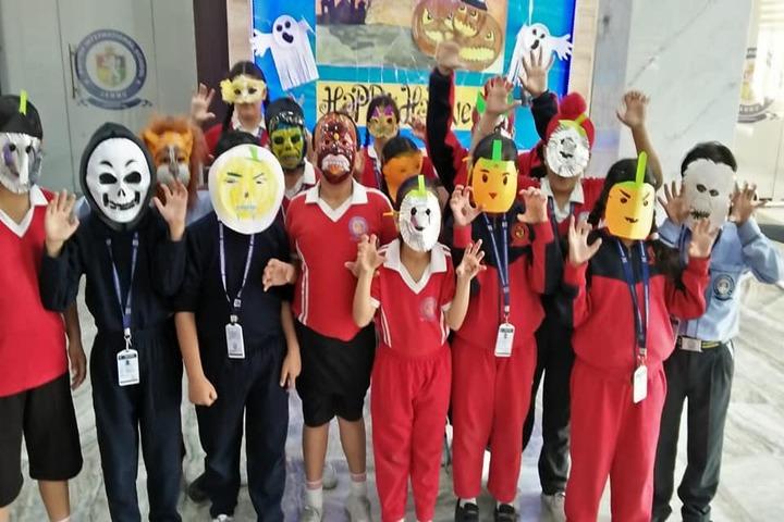 British International School-Hallowen Day