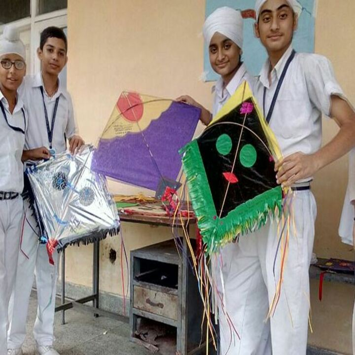 cybernetics secondary school-kite making