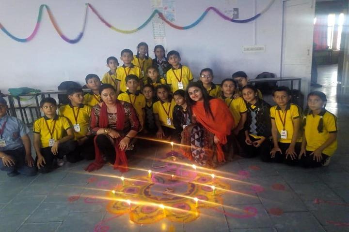 DAV Colligiate School-Diwali Celabrations