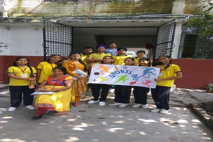DAV Colligiate School-Sports Day