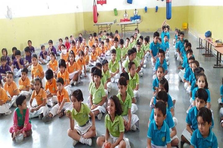 Delhi Public School- Yoga Activity