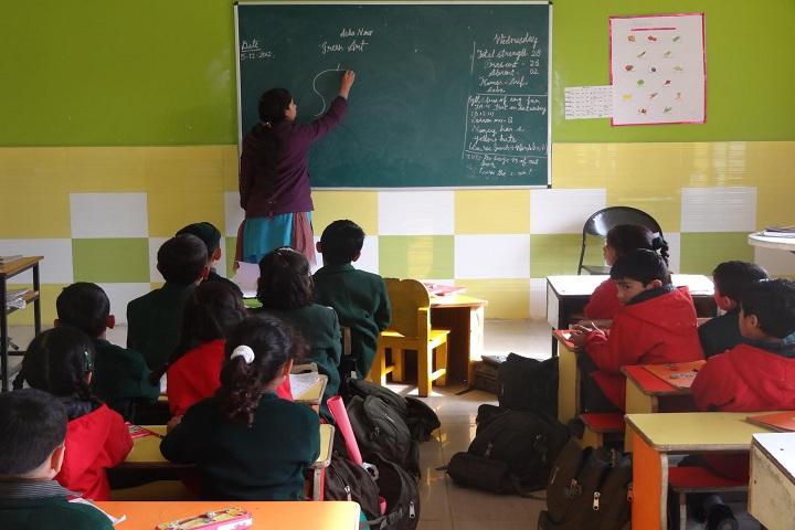 Delhi Public School - Classroom