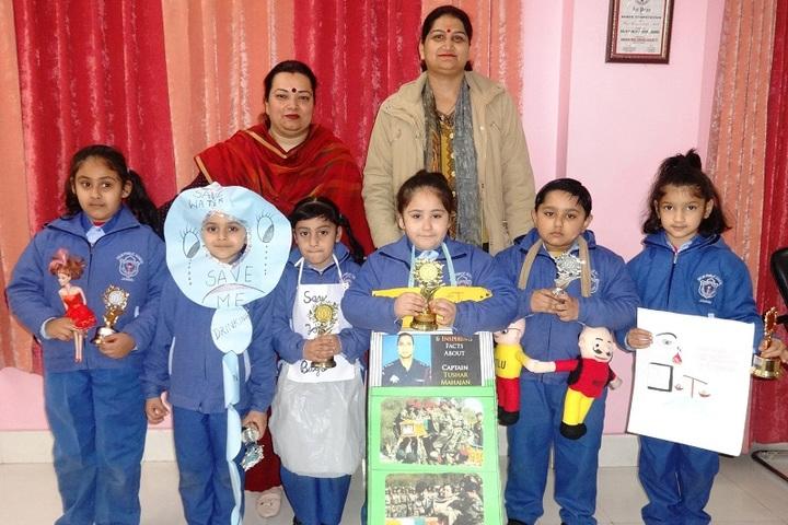 Delhi Public School-Tell Compitition