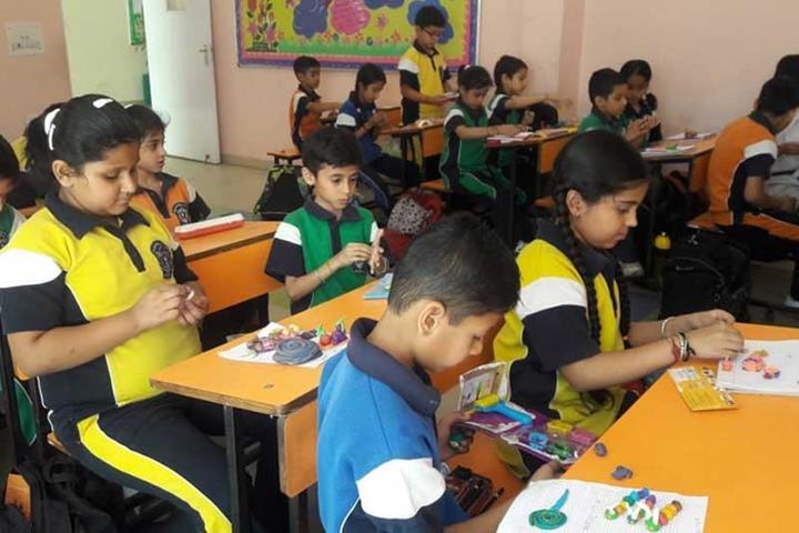 Delhi Public School-Painting Compitition