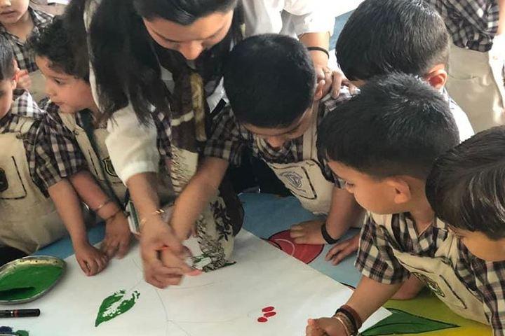 Delhi public School-Painting