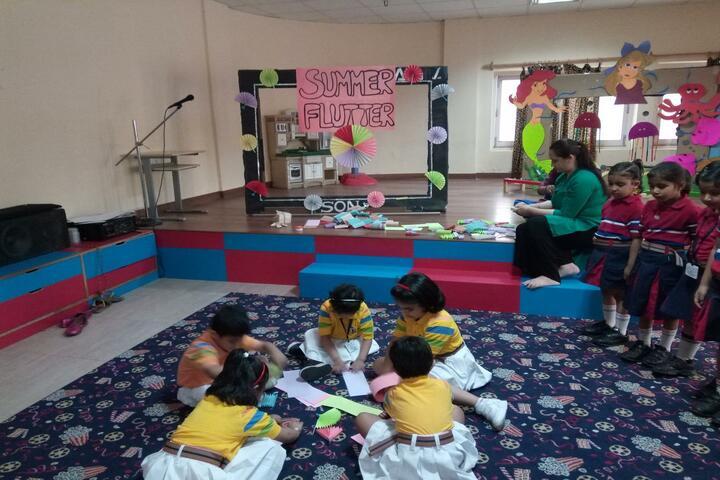 GD Goenka Public School-Art And craft
