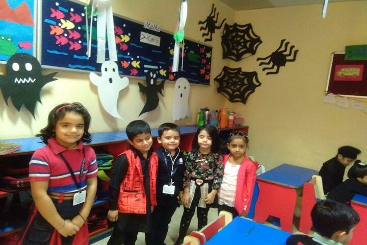 GD Goenka Public School-Halloween Day