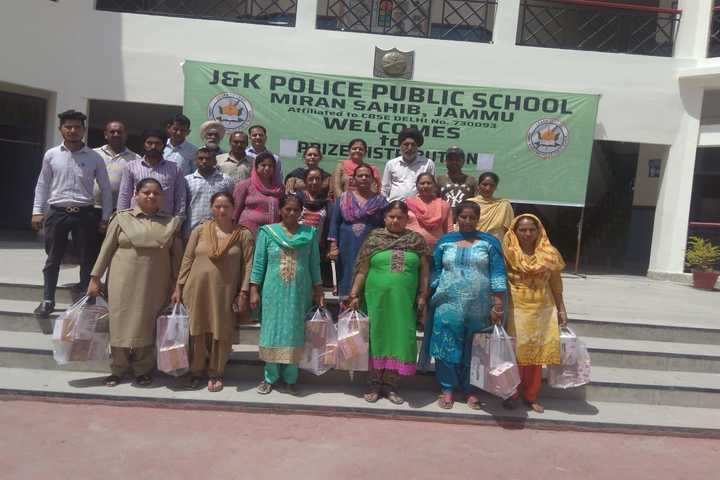 J k Police Public School- Labour Day