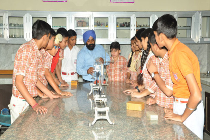 J k Police Public School-Physics Lab