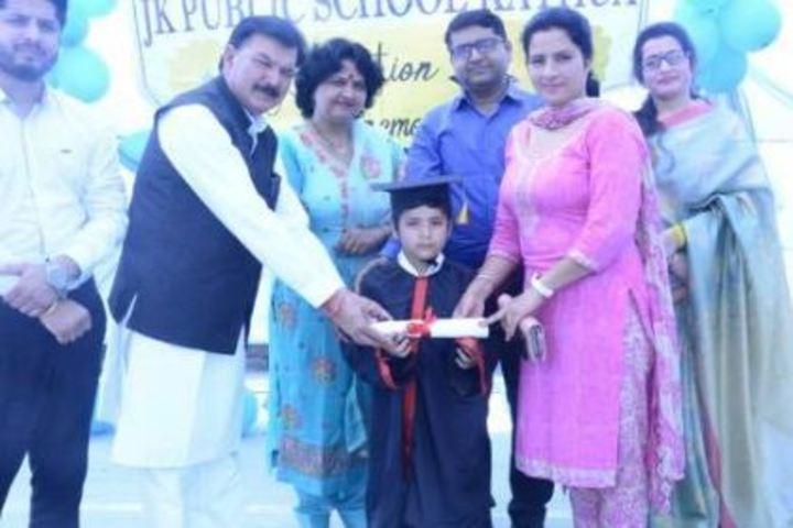 J K Public School-Graduation Day