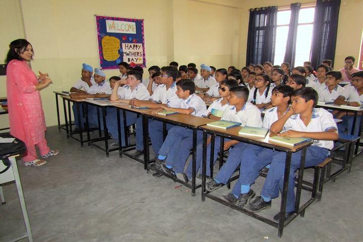 Jammu Sanskriti School-Classroom