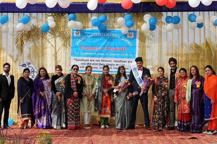 Jammu Sanskriti School-Farwell
