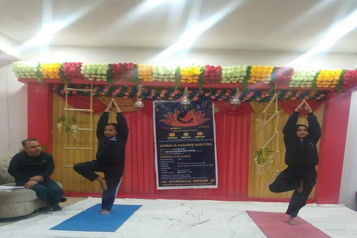 Jammu Sanskriti School-Yoga Day