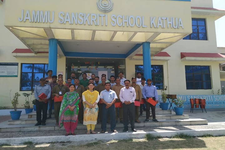 Jammu Sanskriti School-Teachers Day