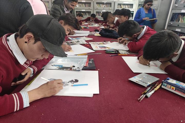 Jawahar Navodaya Vidyalaya-Painting Competition