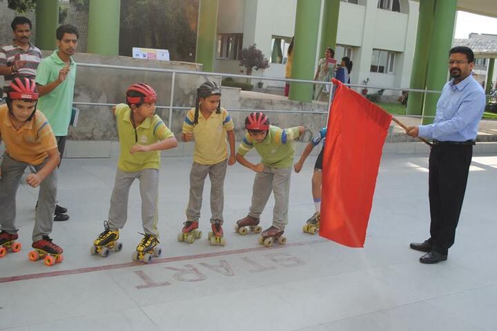 K C International School-Skating