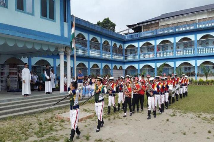 St. Francis De Sales School-March-Past