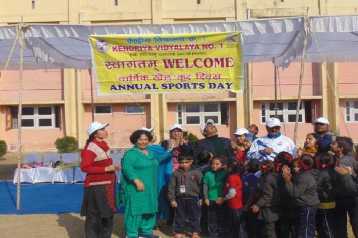 Kendriya Vidyalaya No 1-Annual Sports Day