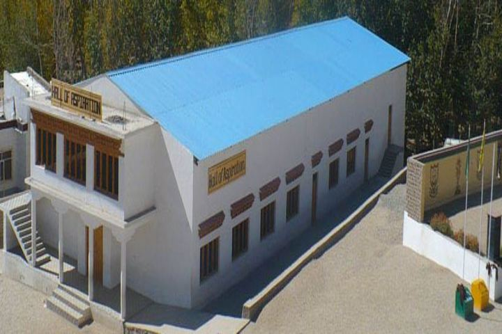Ladakh Public School-Campus Area
