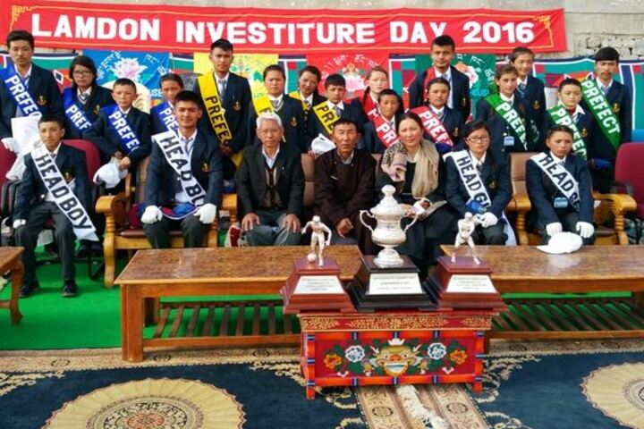 Lamdon Model Senior Secondary School-Investiture