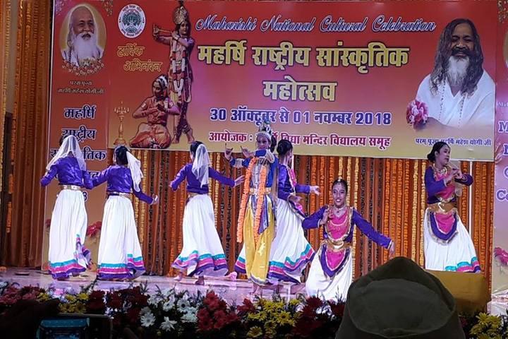 Maharishi Vidya Mandir-Traditional Dance
