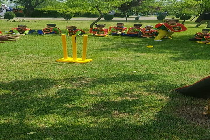 Minto Circle English Medium High School-Cricket