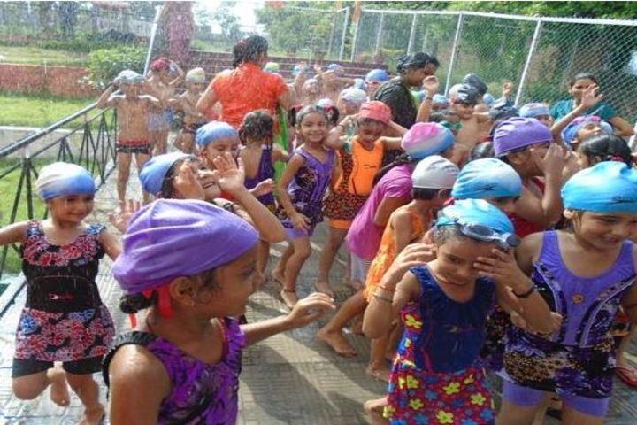 R M Public School-Rain Dance