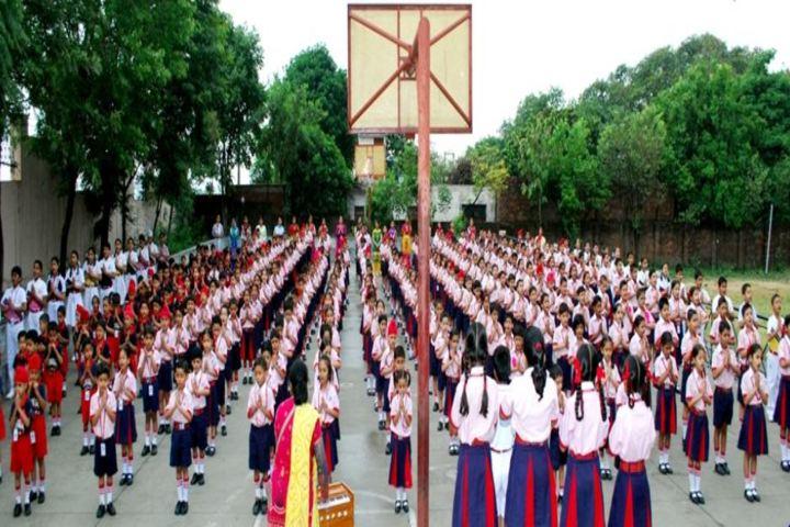 R M Public School-Assembly