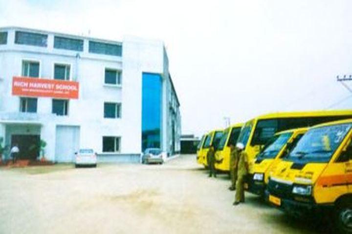 Rich Harvest School-Building Buses