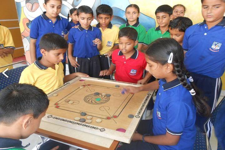 Sai International School-Carroms