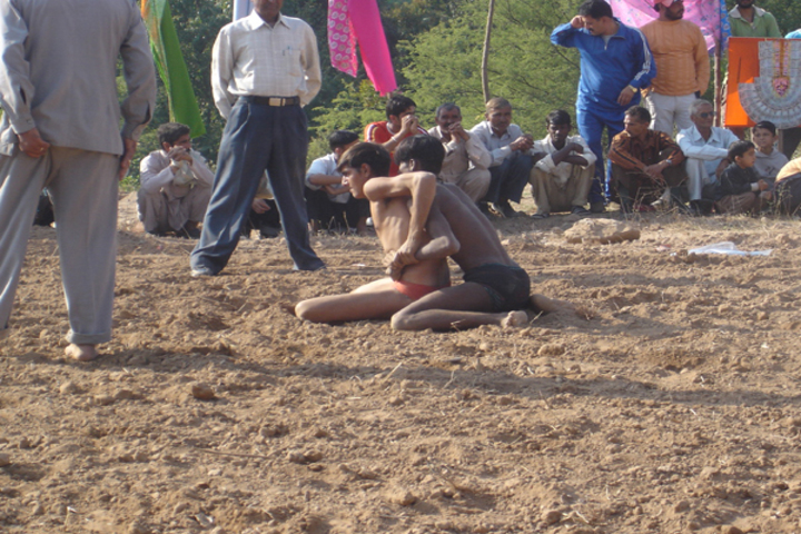 Sh Guru Gang Devji Model School-Fighting