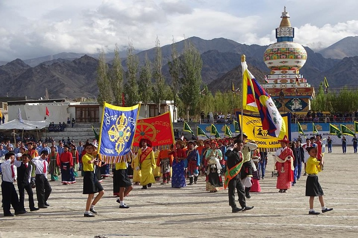 The Tibetan Sos Childrens Village School-Others sports meet