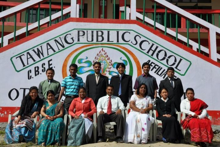 Tawang Public School-Staff