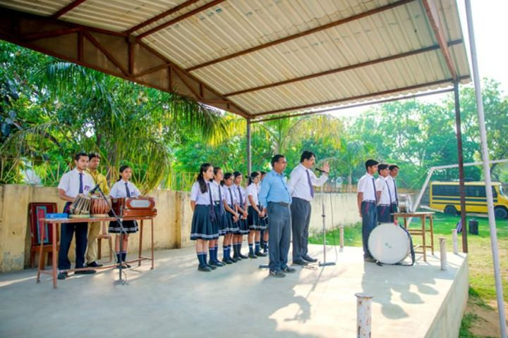 A R S Public School-Singing Competition