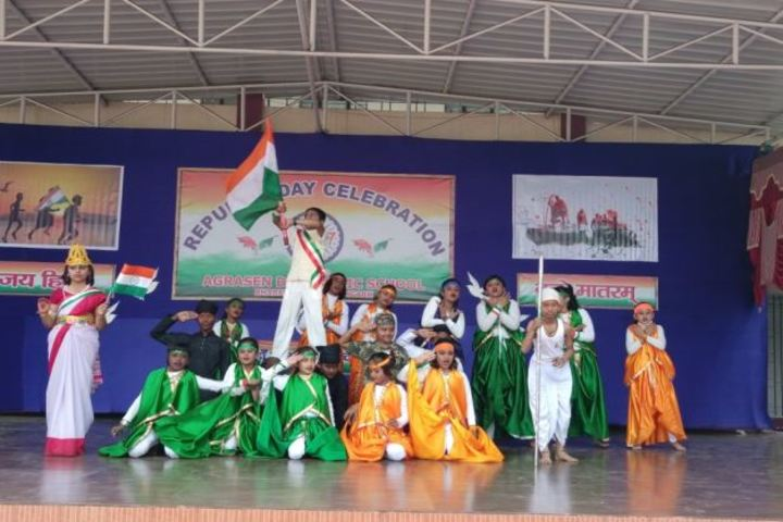 Agrasen Dav Public School-Dance