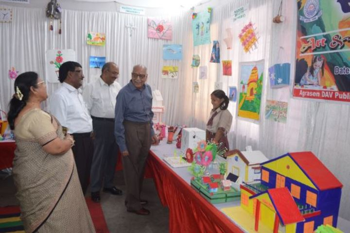 Agrasen Dav Public School-Exhibition
