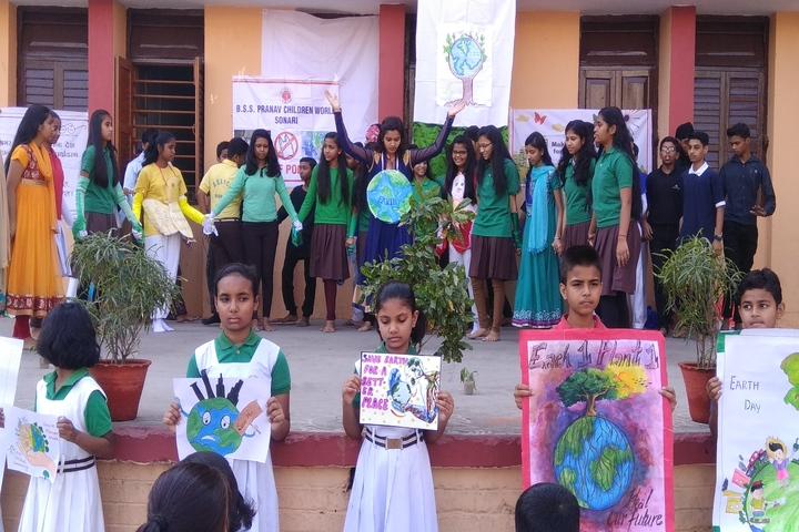B S S Pranav Children World-Earth Day