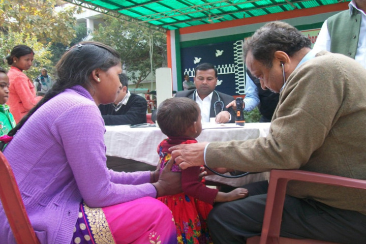 Badri Narayan Shah Dav Public School-Medical Check Up