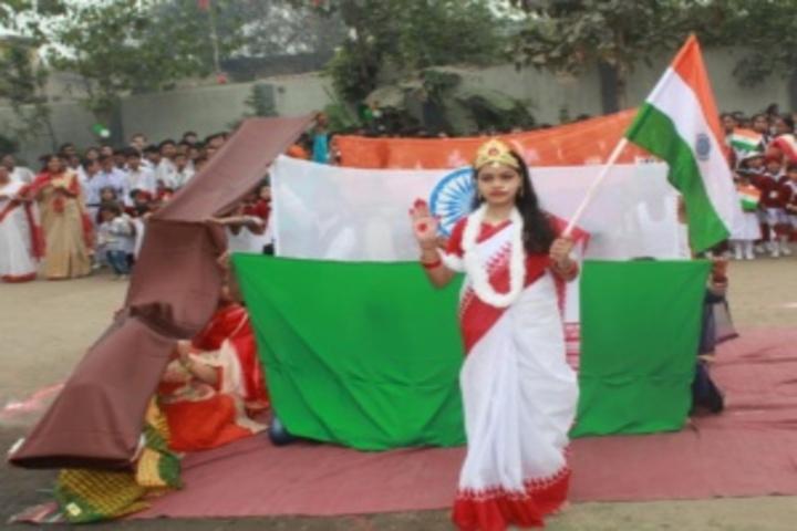 Balkia Vidya Mandir-Republic Day