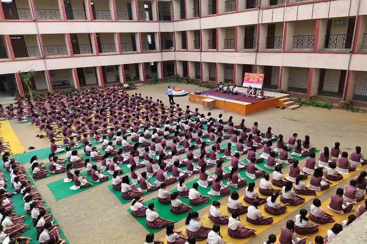 Banshidhar Parasnath DAV Public School-Yoga