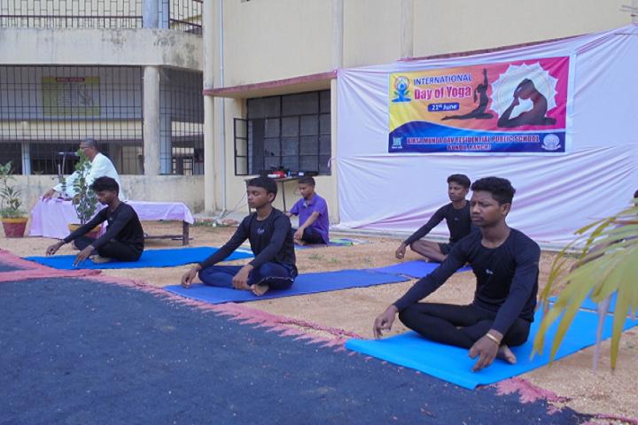 Birsa Munda DAV Residential Public School-Yoga