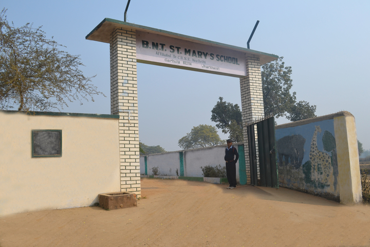 BNT St Mary School-Gate View