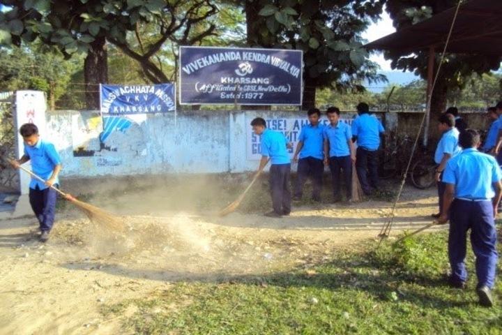 Vivekanand Kendra Vidyalaya-Cleaning