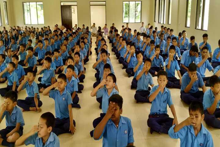 Vivekanand Kendra Vidyalaya-Yoga