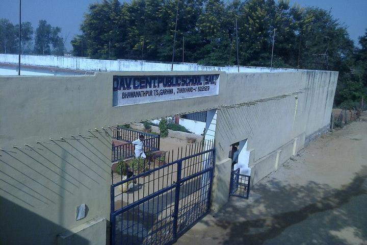 D A V Centenary Public School-School Gate