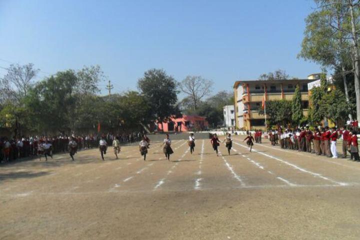 D A V Model School-Running