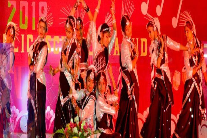 D A V Public School-Dance1