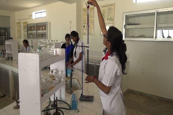 Dav Alok Public School-Chemistry-Lab