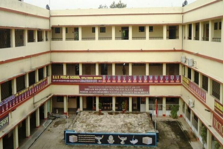 D A V Public School-Campus View