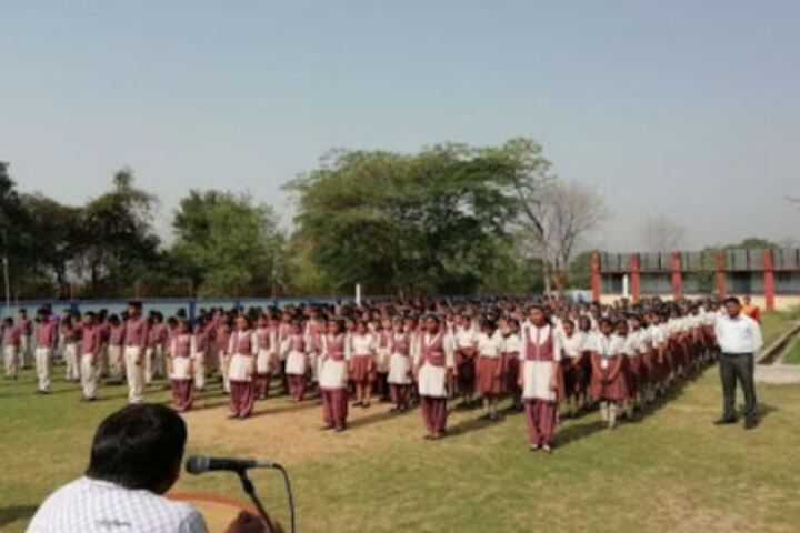 Dav Public School-Morning-Assembly